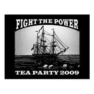 新しいアメリカのお茶会2009年 ポストカード