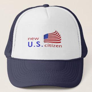 新しいアメリカ人私達愛国心が強い市民のプライドの帽子のデザイン キャップ