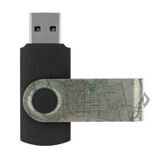 新しいアルバニー、Floyd Co、インディアナ市の計画 USBフラッシュドライブ