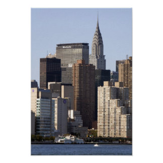 新しいエンパイア・ステート・ビルディングおよびニューヨークシティ ポスター