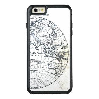新しいオランダの地図の地球の絵のミニマリスト オッターボックスiPhone 6/6S PLUSケース