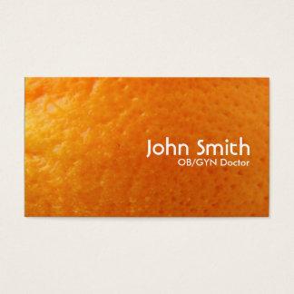 新しいオレンジ質OB/GYNの名刺 名刺