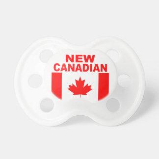 新しいカナダ人 おしゃぶり