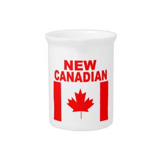 新しいカナダ人 ピッチャー