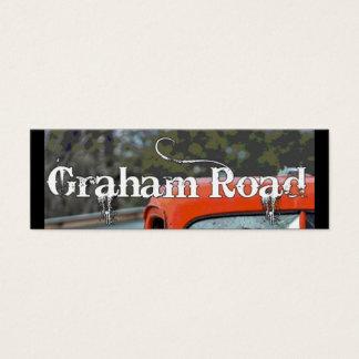 新しいグラハムRdの名刺 スキニー名刺