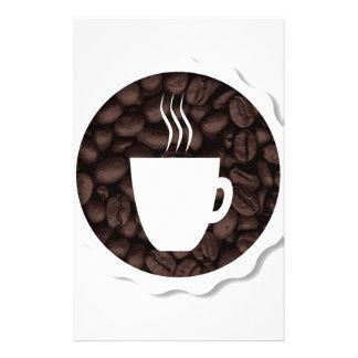 新しいコーヒー 便箋