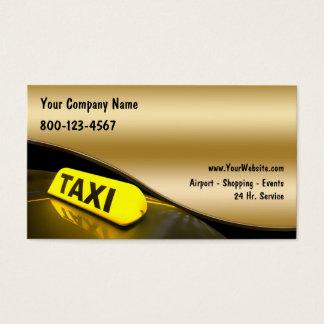 新しいタクシーの名刺 名刺