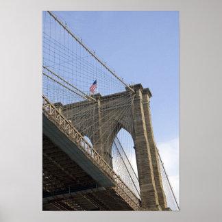新しいニューヨークシティのブルックリン橋 ポスター