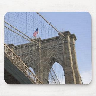 新しいニューヨークシティのブルックリン橋 マウスパッド