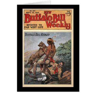 新しいバッファローのビル週間第210 1916年 カード