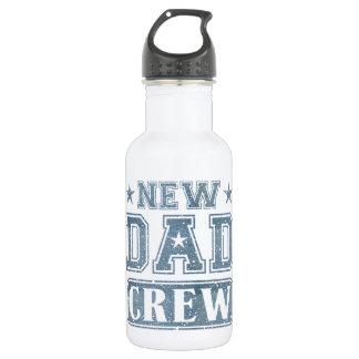 新しいパパの乗組員のデニムの質 ウォーターボトル