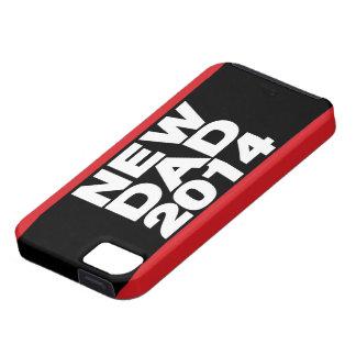 新しいパパ2014年のLgの赤 iPhone SE/5/5s ケース