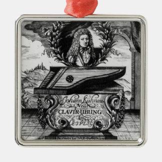 新しいピアノは、1689年練習します メタルオーナメント