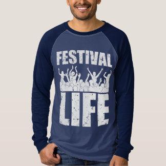 新しいフェスティバルの生命(白い) Tシャツ