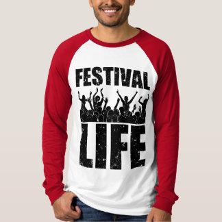 新しいフェスティバルの生命(blk) tシャツ