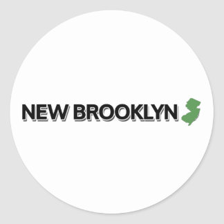 新しいブルックリン、ニュージャージー ラウンドシール