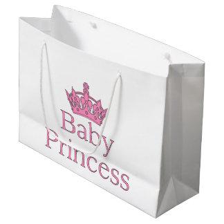 新しいプリンセス-王室のな赤ん坊! ラージペーパーバッグ