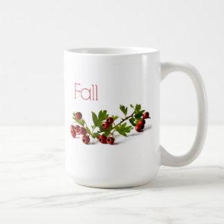 新しいホーソーンの果実 コーヒーマグカップ