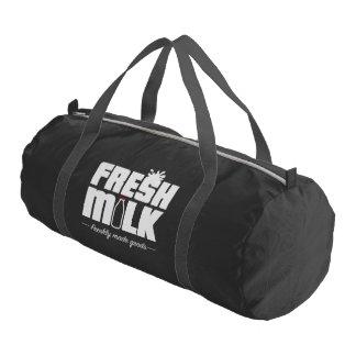 新しいミルクの必要な体育館のバッグ ジムバッグ