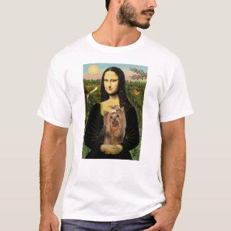 新しいモナ・リザ及び彼女のヨークシャテリア Tシャツ
