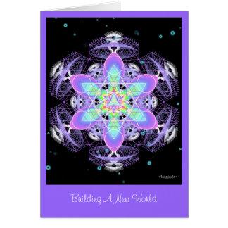 新しい世界を造ること カード