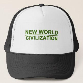 新しい世界文明 キャップ