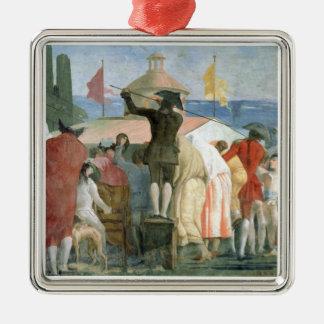 新しい世界1791-97年(キャンバスの油) (2つをまた見て下さい メタルオーナメント