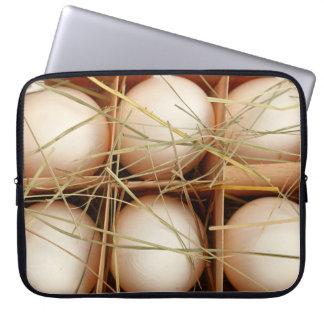 新しい卵のプリントが付いているFunyのラップトップスリーブ ラップトップスリーブ