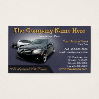 新しい及び中古車の販売-自動車売上高の倍は味方しました 名刺