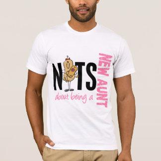 新しい叔母さん1ピンクがあることについてのナット Tシャツ