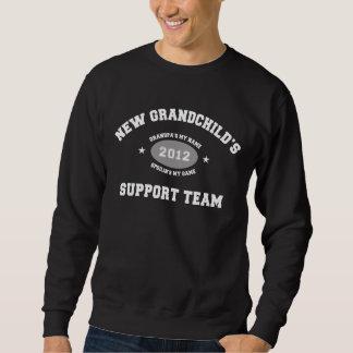 新しい孫2012の支援チーム スウェットシャツ