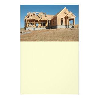 新しい家の建築 チラシ