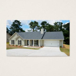 新しい家の建設業カード 名刺