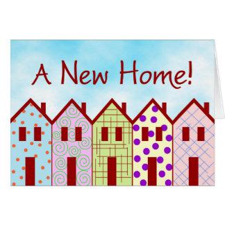 新しい家 グリーティングカード