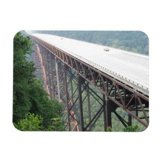 新しい川峡谷橋、ウェストヴァージニアの磁石 マグネット