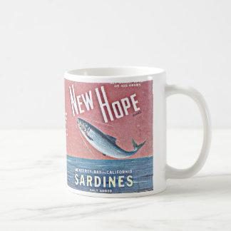 新しい希望のサーディン コーヒーマグカップ
