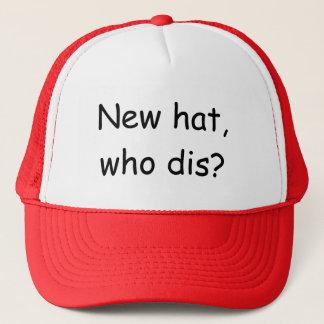 新しい帽子、だれdisか。 キャップ