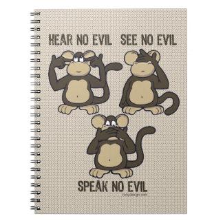 新しい悪猿を-聞かないで下さい ノートブック