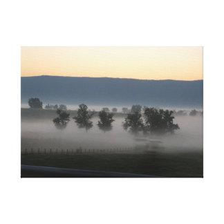 新しい日の夜明け キャンバスプリント