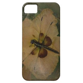 新しい日はトンボ及びワスレグサA iPhoneの場合の庭いじりをします iPhone SE/5/5s ケース