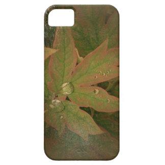 新しい日は葉A iPhoneの場合のシャクヤクの庭いじりをします iPhone SE/5/5s ケース