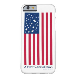 新しい星座の米国旗のiPhone6ケース Barely There iPhone 6 ケース