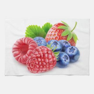 新しい果実 キッチンタオル