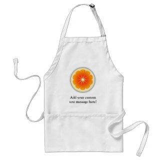 新しい柑橘類のデザイン、かわいいカラフル スタンダードエプロン