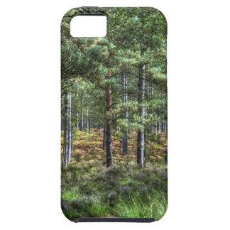 新しい森林森林木の自然場面 iPhone SE/5/5s ケース