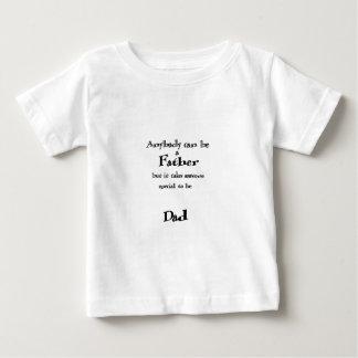 新しい父 ベビーTシャツ