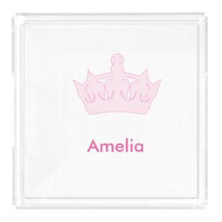 新しい王女-王室のな赤ん坊! アクリルトレー