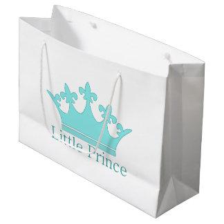 新しい王子-王室のな赤ん坊! ラージペーパーバッグ