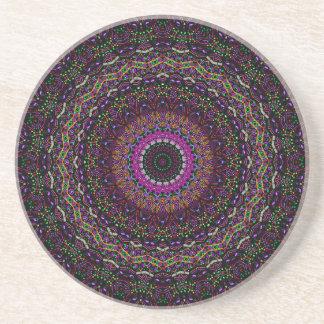 新しい線形ラズベリーの万華鏡のように千変万化するパターン コースター