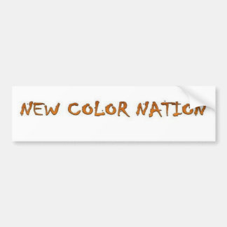 新しい色の国家のプロダクト及び付属品 バンパーステッカー